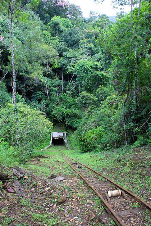 Acesso mais recente da mina, aberto em 1937.