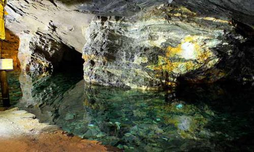 Lago Subterrâneo Mina da Passagem